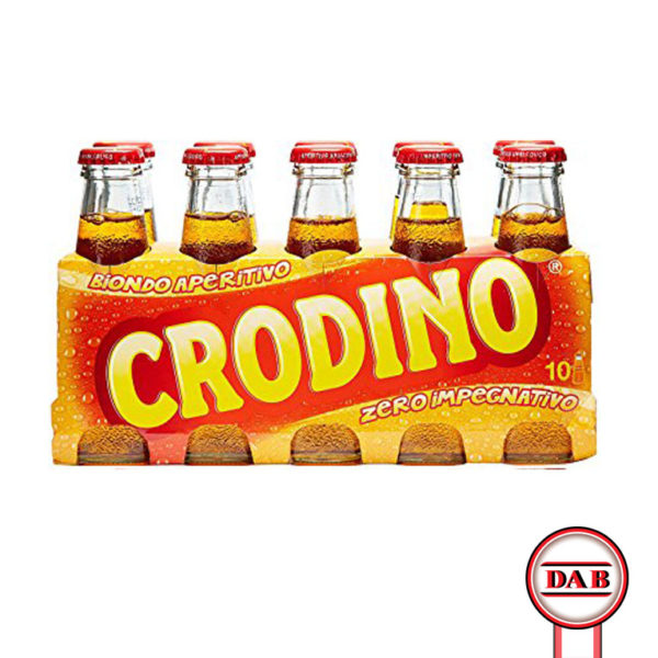 CRODINO __ Aperitivo-analcolico __ DAB srl __ Distribuzione Alimentari e Bevande __ CONFEZIONE __