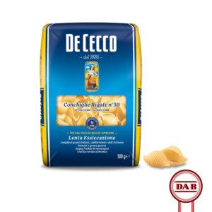 De-Cecco__CONCHIGLIE-RIGATE-50__Pasta-di-Semola__DAB-srl__PRODOTTO__