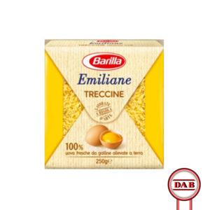 Barilla-Emiliane-all'uovo__TRECCINE__gr250__DAB-srl__distibuzione-alimentari-bevande__PRODOTTO__